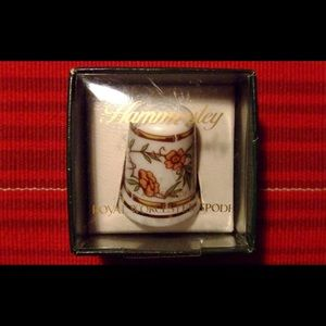 New HAMMERSLEY Collectible Thimble Royal Worcester